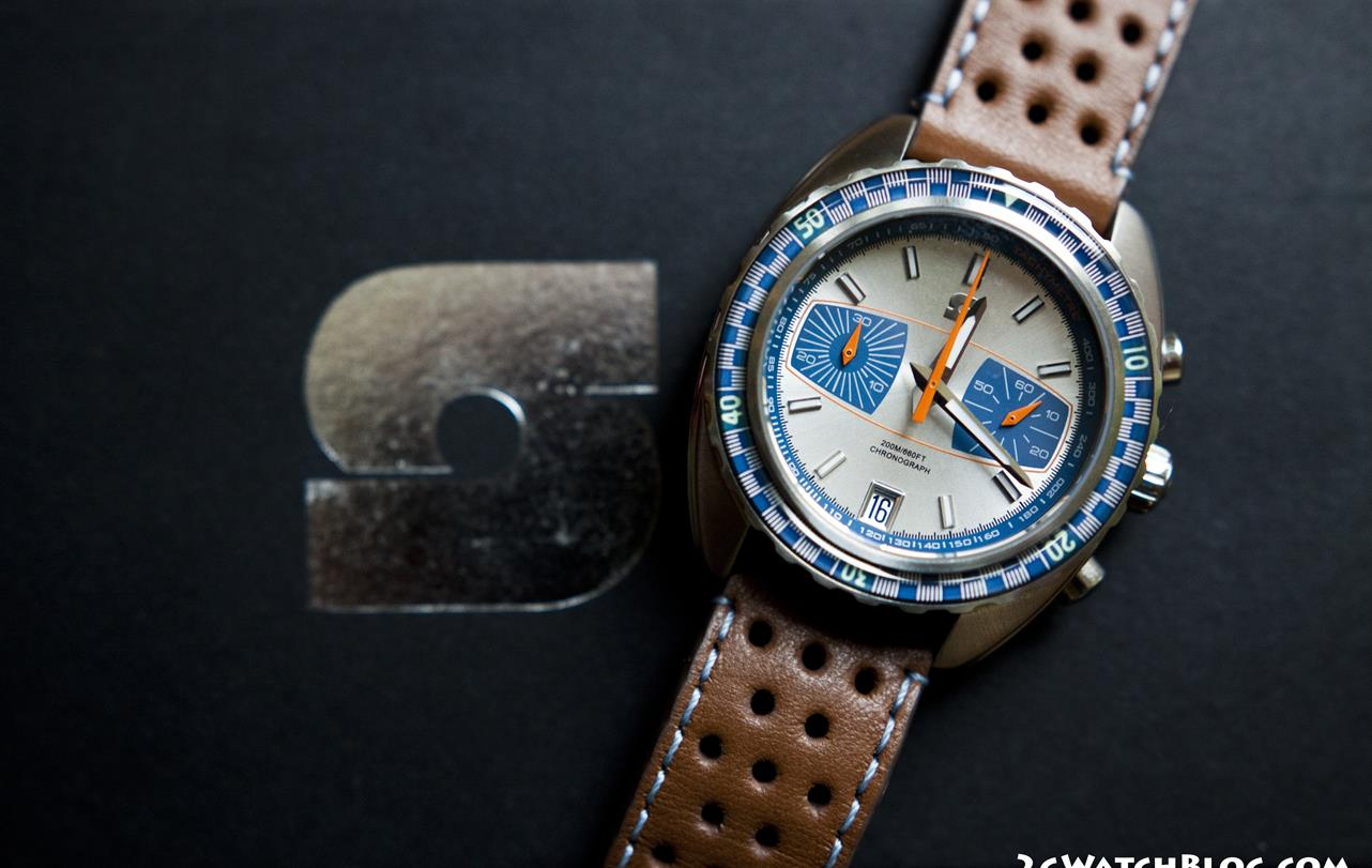 Straton Syncro + Pattini strap – review