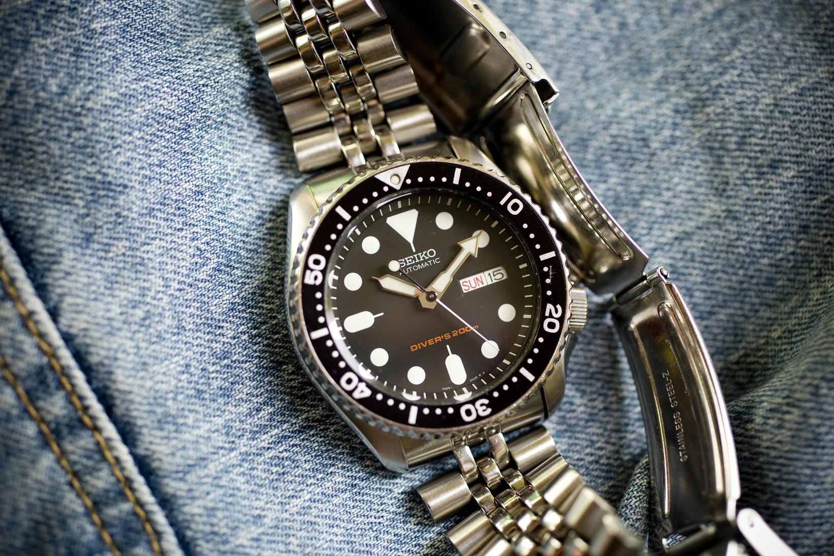 Seiko SKX007 – review of used watch