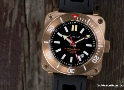 Aquatico Super Charger Dive Bronze – recenzja
