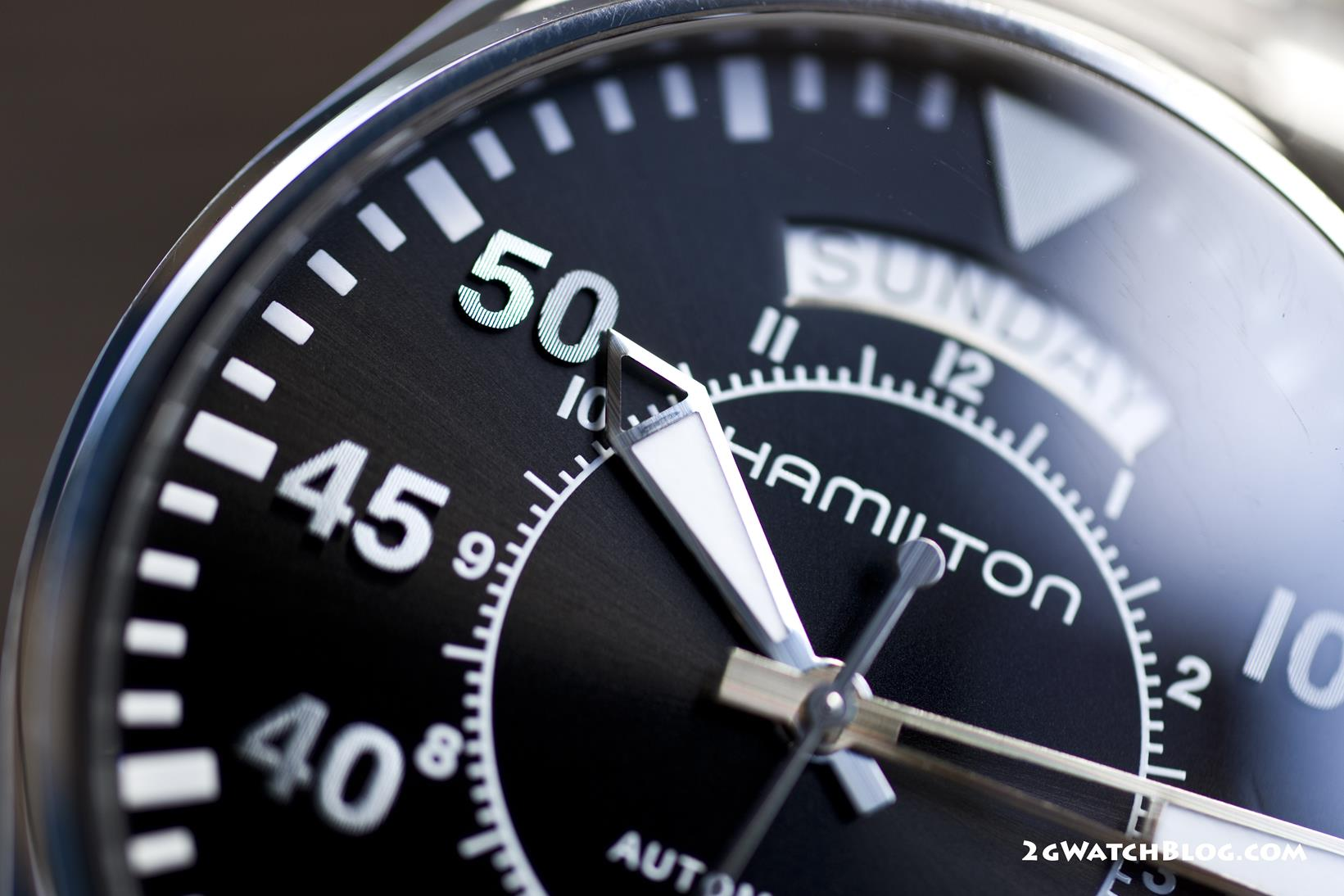 Hamilton Khaki Aviation Day Date Auto H64615135 – review