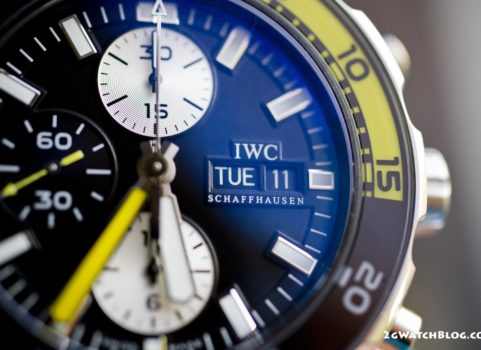 IWC Aquatiomer Chronograph IW3767-01 – review