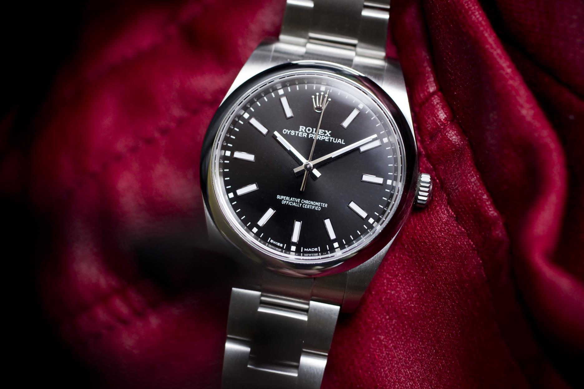 Rolex Oyster Perpetual 39 Black – review